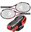 Tecnifibre Pack 2 T-Fight 295 + Thermo 6 Raquettes
