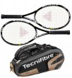 Tecnifibre Pack 2 T-Flash 315 + Thermo 9 raquettes