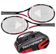 Tecnifibre Pack 2 T-Fight 295 + Thermo 12 raquettes