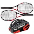 Tecnifibre Pack 2 T-Fight 295 + Thermo 9 Raquettes