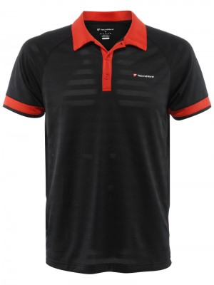 Tecnifibre F3 X-Cool Polo Noir/Rouge